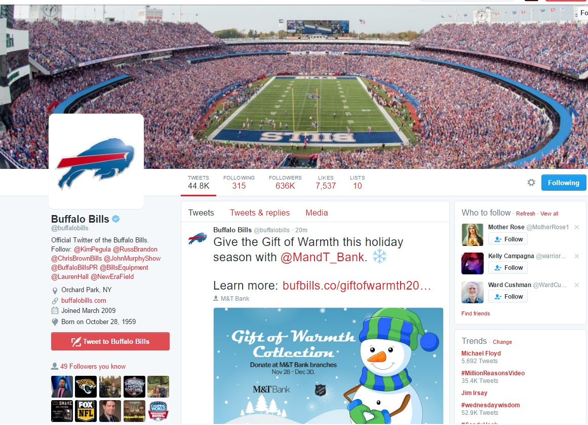 Prime Tickets | Buffalo Bills Tickets